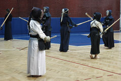 Kendo Training Royalty Free Stock Photos