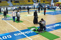 Kendo warriors Royalty Free Stock Image