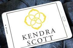 Kendra Scott Design-embleem Stock Afbeelding