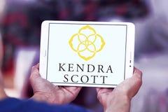 Kendra Scott Design-embleem Stock Foto's