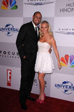 Kendra Wilkinson, Hank Baskett Royalty Free Stock Photos