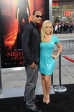 Kendra Wilkinson,Hank Baskett Stock Image