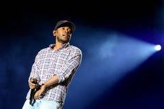 Kendrick Lamar (American hip hop recording artist) performs at Heineken Primavera Sound 2014 Royalty Free Stock Photos
