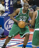 Kendrick Perkins With Ball Royalty Free Stock Photo