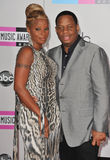 Kendu Isaacs, Mary J. Blige Stock Photography
