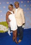 Kendu Isaacs, Mary J. Blige Stock Image