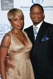 Kendu Isaacs,Mary J. Blige Royalty Free Stock Photo
