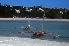 Kendwa boat stock photo