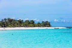 Kendwa pla?y Unguja Zanzibar wyspa Tanzania Afryka Wschodnia zdjęcia royalty free
