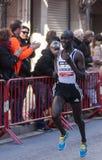Kenedy Kimengwa, Mitja Marato Granollers Image libre de droits