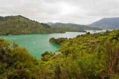 Kenepuru Sound of Marlborough Sounds, New Zealand Royalty Free Stock Photo