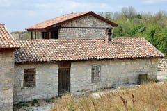 Kenesa - Karaite prayer houses, Chufut-Kale, Crimea, Ukraine Stock Images