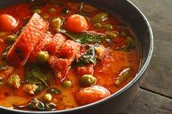 KENG-HUSDJURPED YANG Thaifood arkivfoton