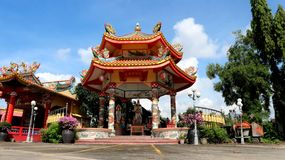 Keng Tek Tueng Chinese Shrine. View of Keng Tek Tueng Shrine on October 22, 2018 in Nonthaburi province of Thailand stock photography