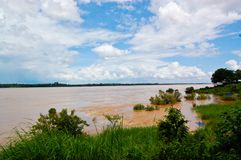 Kengkaboa,Kong River,Thailand,Mukdahan Royalty Free Stock Photo