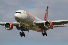 Kenia-Luft stockfotografie