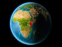 Kenia por la tarde Fotografía de archivo libre de regalías
