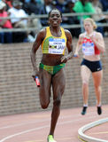 Kenia Sinclair - Jamaican track athlete in action Stock Photography