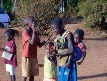 Keniaanse kinderen Royalty-vrije Stock Afbeeldingen