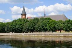 Kenigsberg Cathedral. Kaliningrad Stock Photography