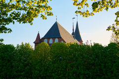 Kenigsberg Cathedral is main symbol of the city. Kaliningrad Royalty Free Stock Photo