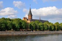 Kenigsbergkathedraal stock afbeeldingen