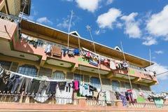 Kenijski budynek mieszkaniowy W Nairobia, Kenja Zdjęcia Stock