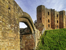 Kenilworth城堡 免版税库存照片