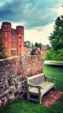 Kenilworth城堡 库存照片