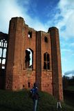Kenilworth Castle. A peaceful moment of Kenilworth Castle, Kenilworth Stock Photography