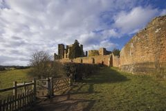 Kenilworth castle, Warwickshire, Royalty Free Stock Image