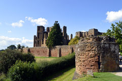 Kenilworth Castle in Warwickshire Royalty Free Stock Photo