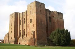 Kenilworth castle, Warwickshire, England Stock Images