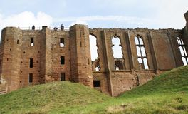 Kenilworth castle in Warwickshire, England Royalty Free Stock Images