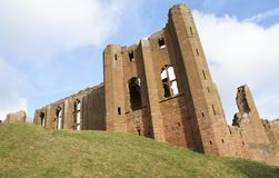 Kenilworth castle in Warwickshire, England Royalty Free Stock Image