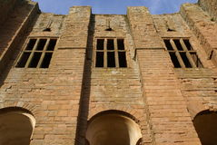 Kenilworth castle in Warwickshire, England Royalty Free Stock Photography
