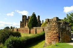 Kenilworth Castle in Warwickshire. The historical Kenilworth Castle in Warwickshire Stock Photography