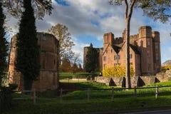 Kenilworth kasztel Warwickshire Zdjęcia Stock