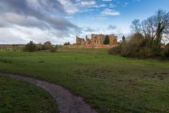 Kenilworth kasztel Warwickshire Obrazy Royalty Free