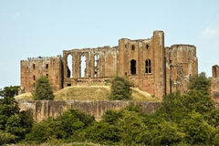 Kenilworth slott, Kenilworth, Warwickshire, England, UK, Royaltyfria Bilder