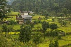 Kenja wioska Zdjęcie Stock