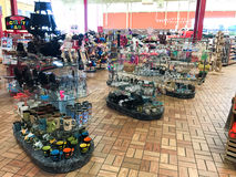Kenly 95 Truck Stop, Kenly, NC Stock Images