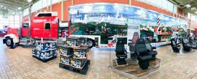 Kenly 95 Ciężarowa przerwa, Kenly, NC obrazy royalty free