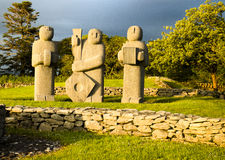 Kenmare statues Royalty Free Stock Image