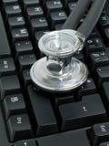 Kenmerkende computer Stock Afbeelding