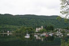 Kenmore, lago Tay, Escocia Imágenes de archivo libres de regalías