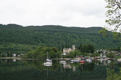 Kenmore, Loch Tay, Scozia Immagini Stock Libere da Diritti