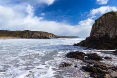 Kennack piaski Cornwall fotografia stock