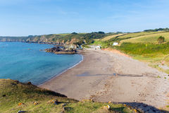 Kennack piaski Cornwall Anglia UK Zdjęcia Stock