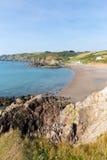 Kennack piaski Cornwall Anglia UK Zdjęcie Royalty Free